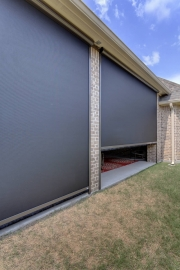 013 MotionScreen Dallas Powered Porch Screen