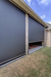 013 MotionScreen Dallas Powered Porch Screen