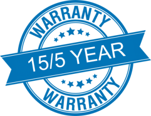15/5 Year Warranty of Dallas Louvered Roofs and Patio Covers
