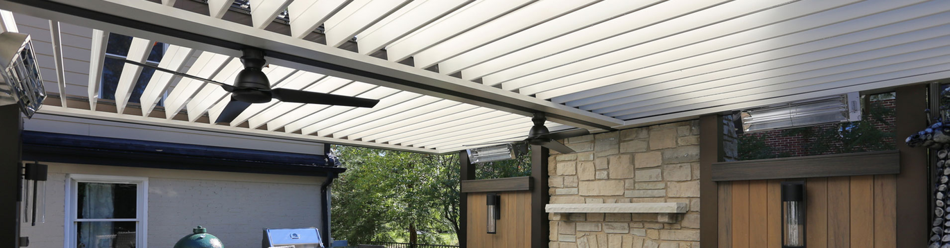 Louvered Roof for your Dallas Patio